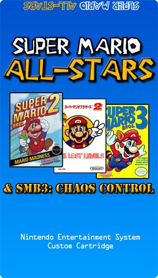 Super Mario All-Stars NES Multicart